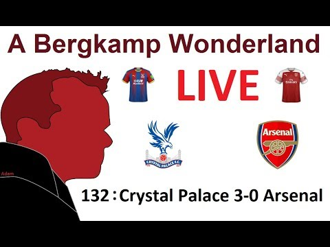 The #ABWRadio Show : 132 - Crystal Palace 3-0 Arsenal