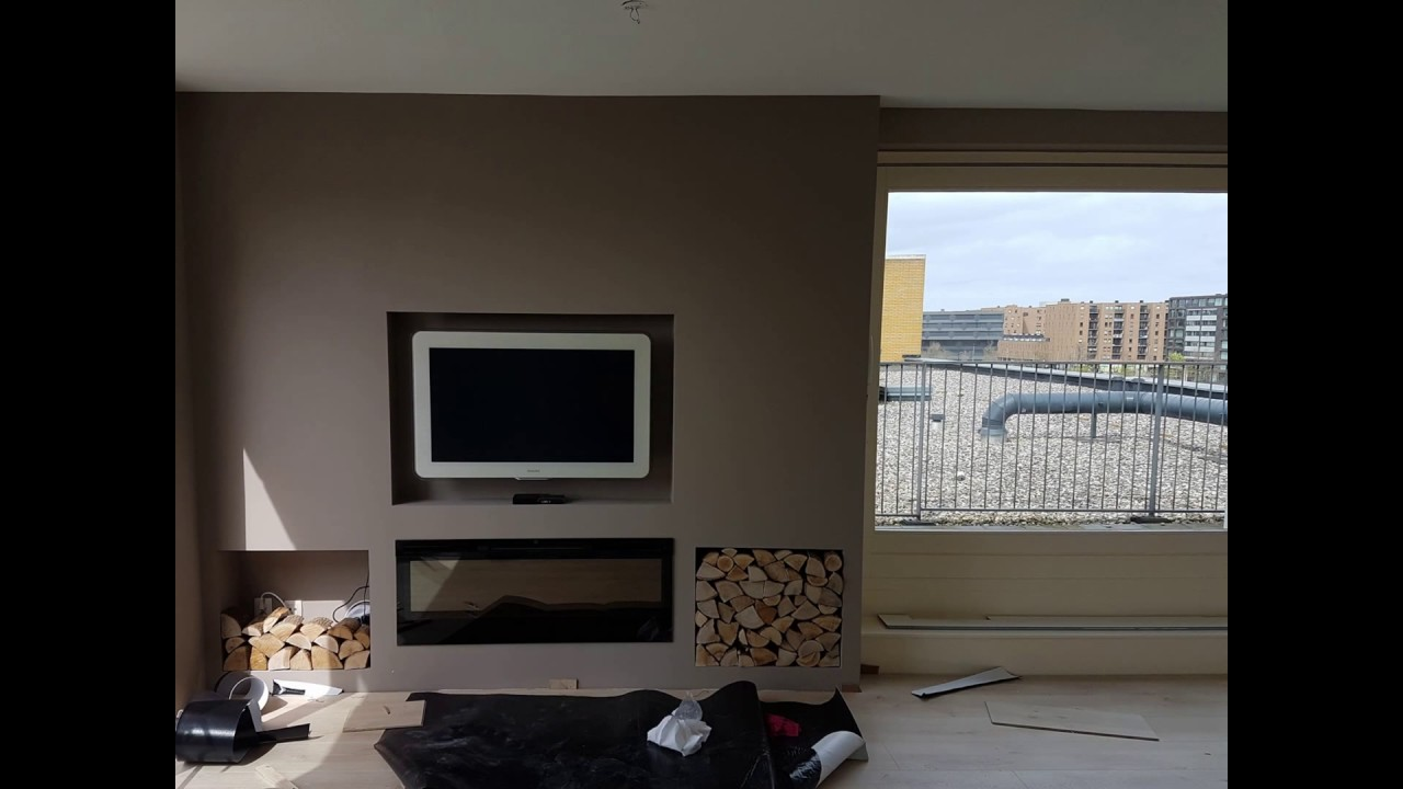 Cinewall By Ayka With Tv Wand