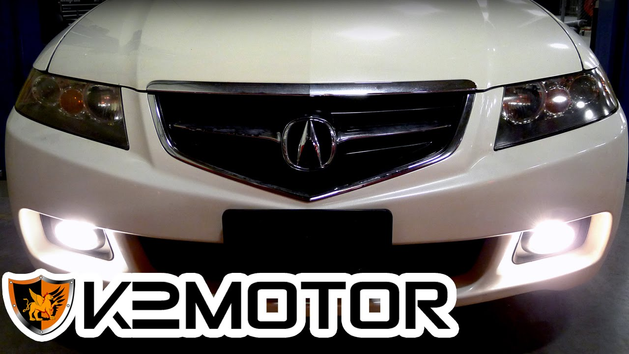 k2motor installation video 2004 2005 acura tsx fog lights youtube rh youtube com 2010 Acura TSX Repair Manual Acura TSX 2010 Features
