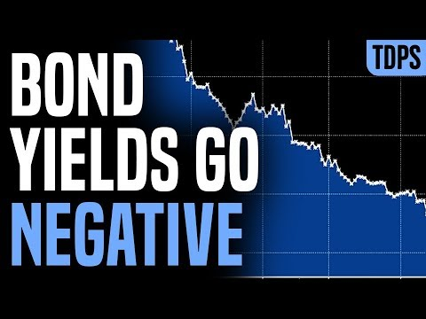 Bond Yields GO NEGATIVE