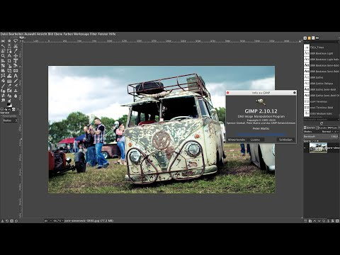 Gimp 2.10.12 auf einem 4K-UHD Monitor einrichten! thumbnail