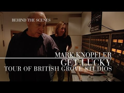 Mark Knopfler - Get Lucky Behind The Scenes, Studio Tour (OFFICIAL)