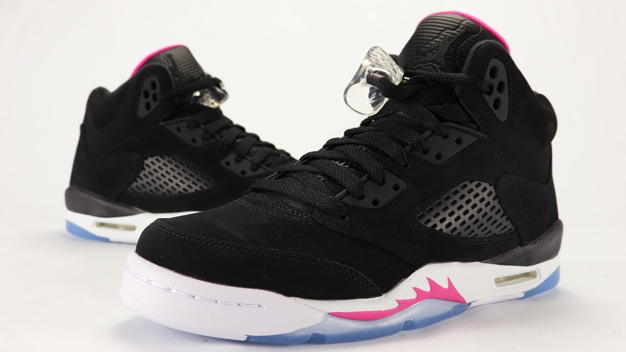 68f8936b9ed4 Air Jordan 5 Deadly Pink Review - YouTube