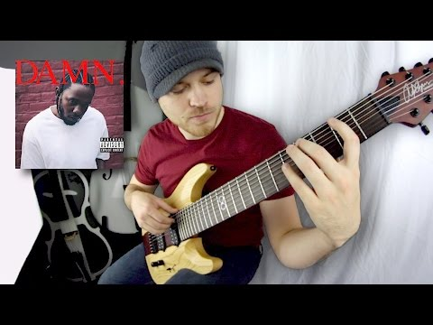 "Kendrick Lamar's ""DAMN."" On One Guitar"