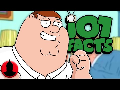 107 Peter Griffin Facts YOU Should Know! - Family Guy Facts! (107 Facts S6 E29)
