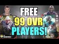 TWO FREE 99 OVERALL PLAYERS ADDED TO THE TEAM! PLAYING AGAINST SUBS! Madden 17 Ultimate Team