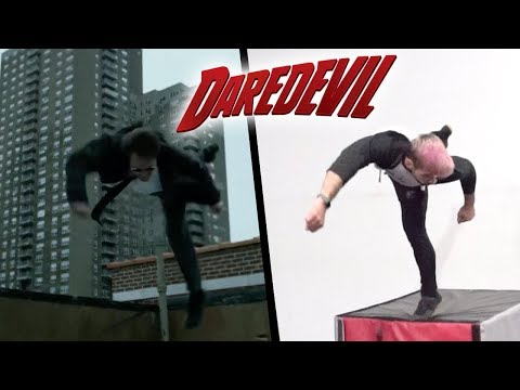 Stunts From Daredevil In Real Life (Parkour, Marvel)