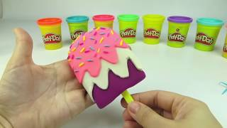 Пластилин Плей До, делаем мороженое из пластилина для детей. Игрушкин ТВ