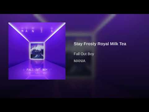 Stay Frosty Royal Milk Tea