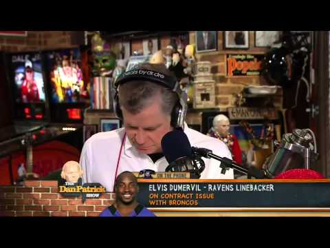Elvis Dumervil on The Dan Patrick Show 3/28/13