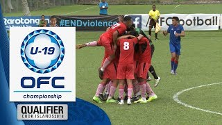2018 OFC U-19 Championship Qualifier | Samoa v Tonga Highlights