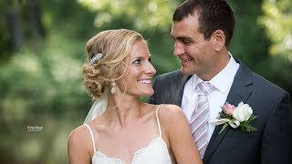 Bride Cries During Emotional Custom Vows // Sweet and personal wedding vows // WI Wedding Video