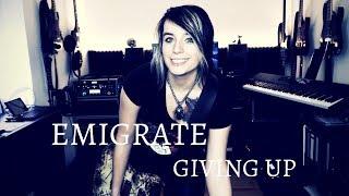 Emigrate - Giving Up Guitar Cover [4K / MULTICAMERA]