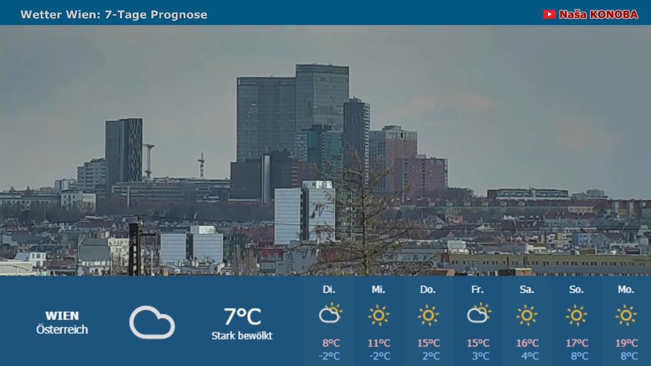 Wetter Wien 7 Tage