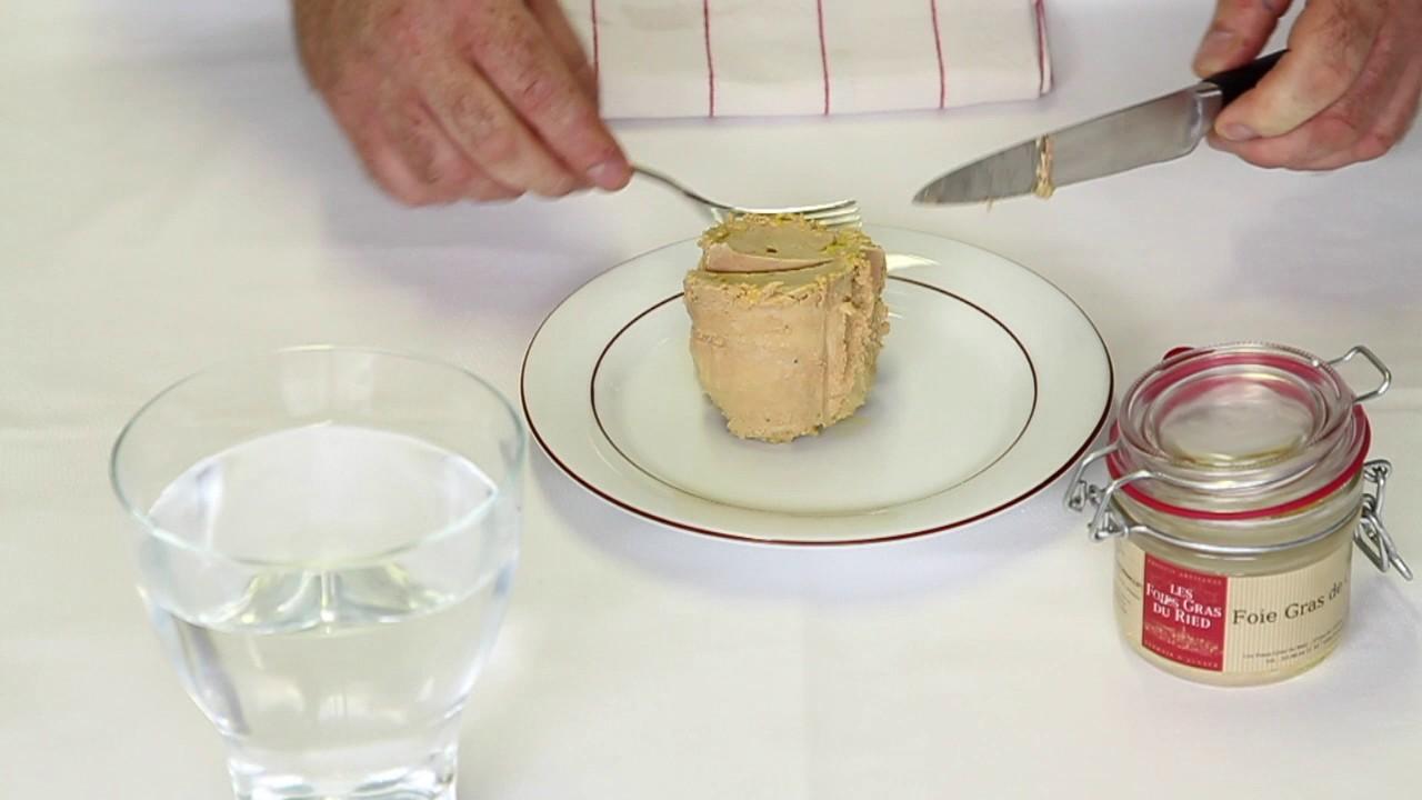 lecon 4 comment couper son foie gras
