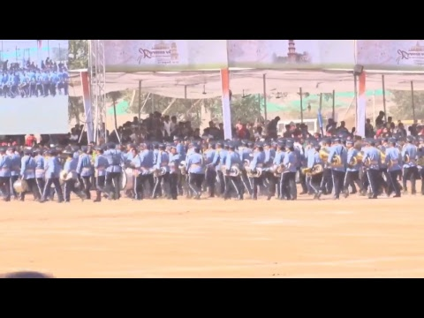 Gujarat CM Shri Vijay Rupani attends Flag hoisting ceremony to mark Republic Day at Palanpur