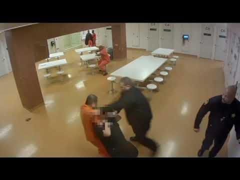 VIDEO: Nurse attacked by inmate at Cuyahoga County Jail