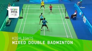 Mixed Doubles Badminton - Highlights | Nanjibng 2014 Youth Olympic Games