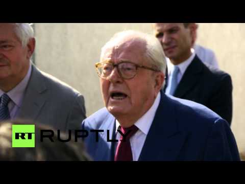 France: Jean-Marie Le Pen faces Front National disciplinary