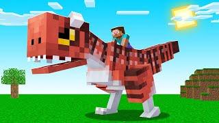 I Went DINOSAUR HUNTING In Minecraft! (help)