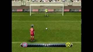 PES 2013 - Penalty shootout [Bayern Munich vs Borussia Dortmund]