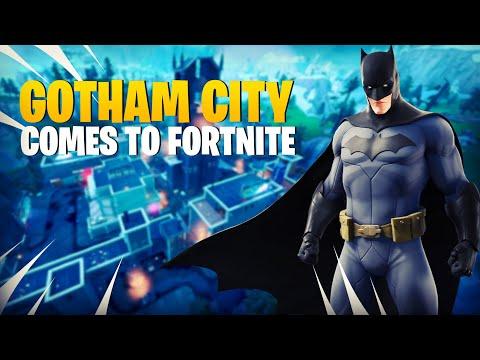 BATMAN BRINGS GOTHAM TO FORTNITE!
