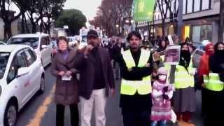 Human Rights Day in Japan ,Ahmadiyyat Zinda bad