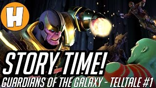 Guardians of The Galaxy Telltale - Story Time! [EP1, Part 1] Guardians vs Thanos! | Hammeh