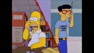 The Simpsons - Homer calls Japan