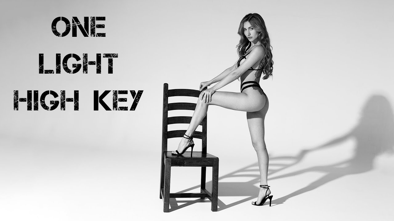 One light High key