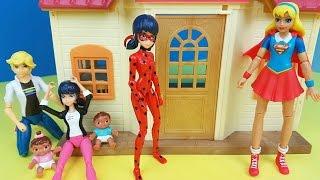 Marinette Decide Mudar de Vida Com Supergirl As Aventuras de LadyBug Miraculous 44