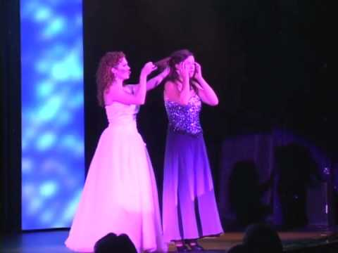 Dana Aber performs Glinda (from Wicked)