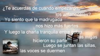 Mi Marciana - Alejandro Sanz - Álbum La Música No Se Toca (Letra/Lyrics)