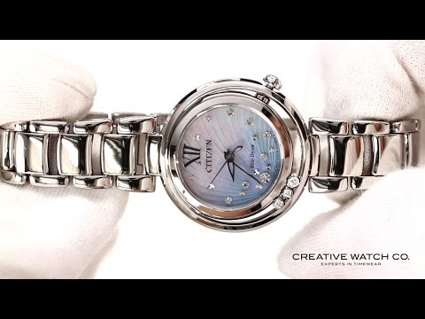 Hands On With The Women's Citizen Watch EM0320-59D