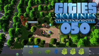 CITIES: SKYLINES [S01E50] - UMBAU-OFFENSIVE: Zentral Park ★ Let