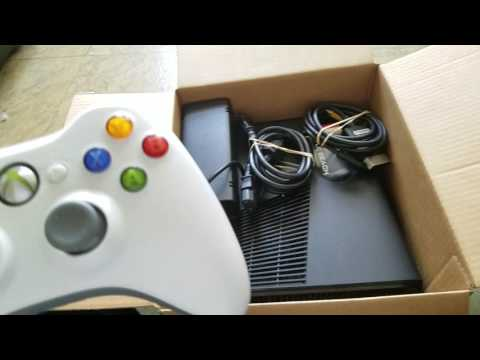 used-xbox-360-slim-from-gamestop-unboxing