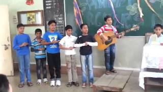 Playing Guitar for his Teacher on Teachers Day