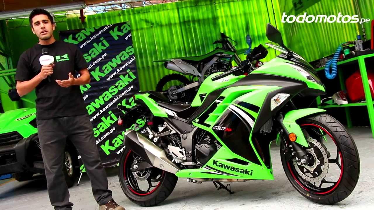 Motos Pisteras Ninja Hd 1280x1024: Kawasaki Ninja 300 En Perú L Vídeo Full HD L Presentado
