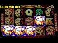 Dancing Drums Slot Machine $8.80 Max Bet Bonus Won | Live Slot Play w/NG Slot | Las Vegas