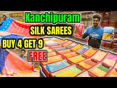 Kanchipuram Pure Silk Sarees | Collection With Price List | Low Prize | Delivery Available