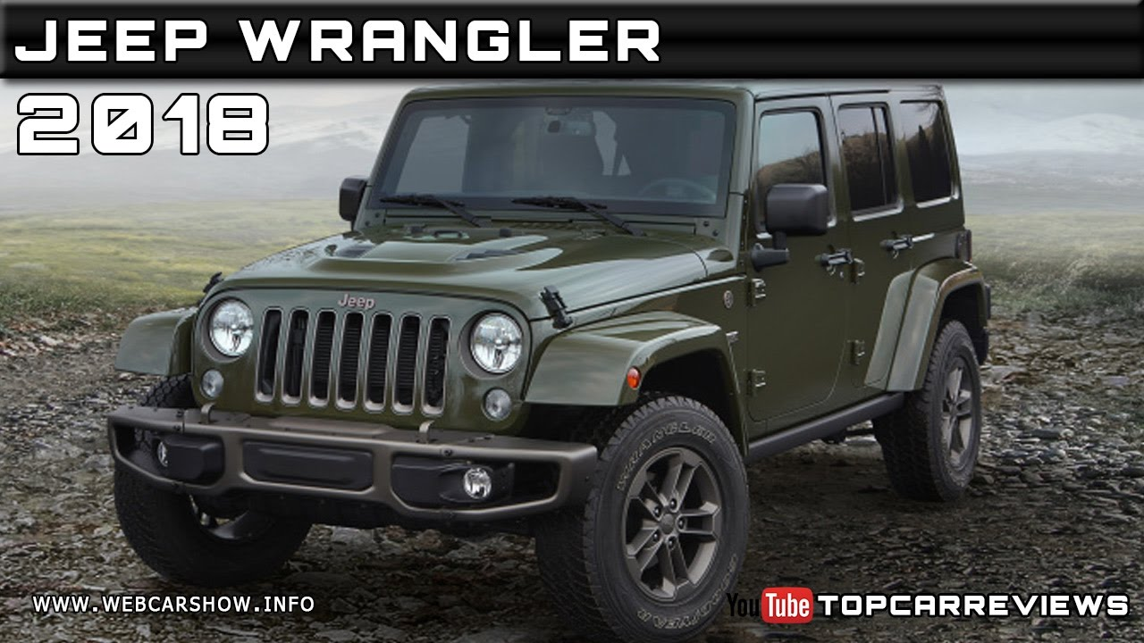 2018 Jeep Wrangler Review Rendered Price Specs Release Date