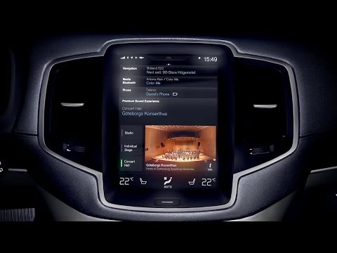 NEW 2015 Volvo XC90 - Audio system by Bowers & Wilkins