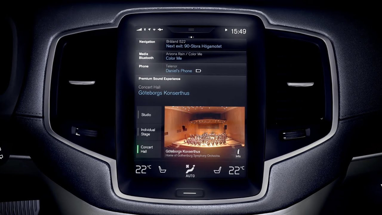 new 2015 volvo xc90 audio system by bowers wilkins. Black Bedroom Furniture Sets. Home Design Ideas