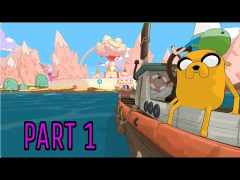 Playing Best Adventure Time Game  -PART  1
