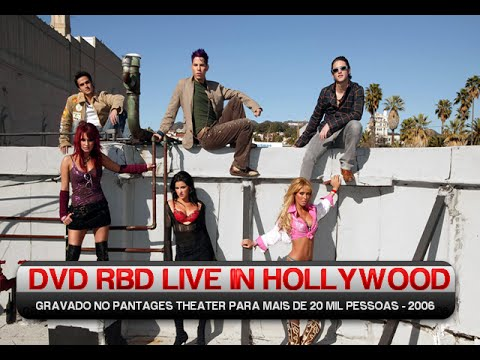 dvd rbd live in hollywood completo