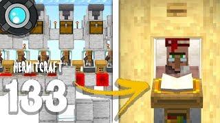 HermitCraft 6: 133 | A WORKING Villager VENDING MACHINE