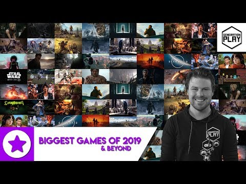 Biggest 2019 games and beyond – upcoming games