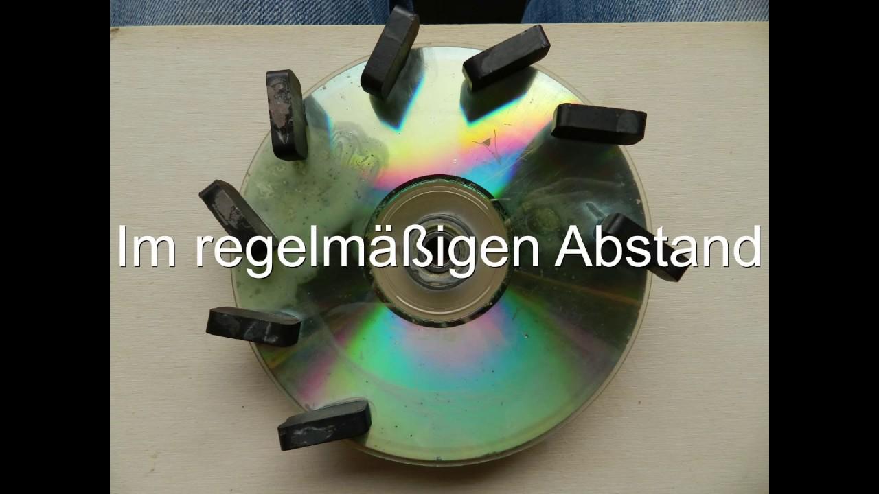 cd perpetuum mobile selber bauen - youtube