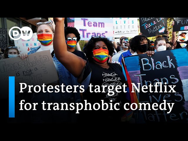 Netflix staff join trans activists to protest Dave Chappelle comedy special | DW News