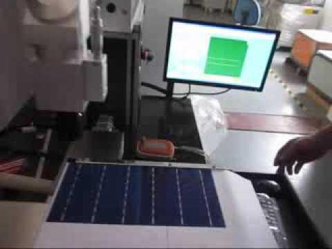 ARGUS SOLAR+ Fiber laser scribing machine for solar cell cutting